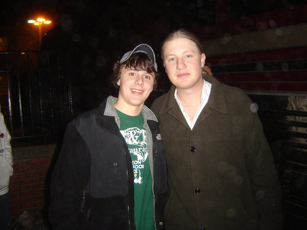 This is me and Derek after Ridgefield Playhouse show on 1/13/06 :)
